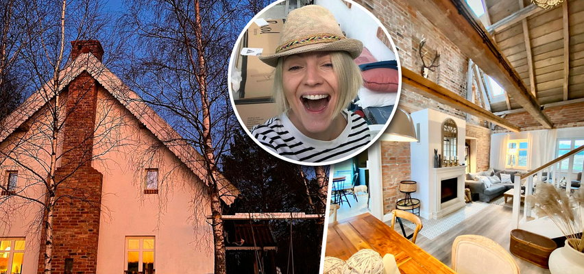 Dorota Szelągowska pokazała wnętrza swojego domu na wsi. Gwiazda zdradziła jak szykuje się do zimy. Co takiego robi?