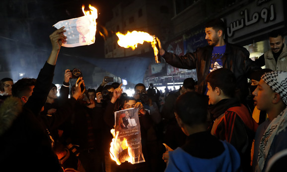 Protest Palestinaca
