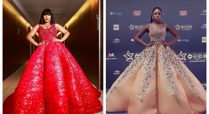 2 times Zynnell Zuh channelled Nana Akua Addo on the red carpet