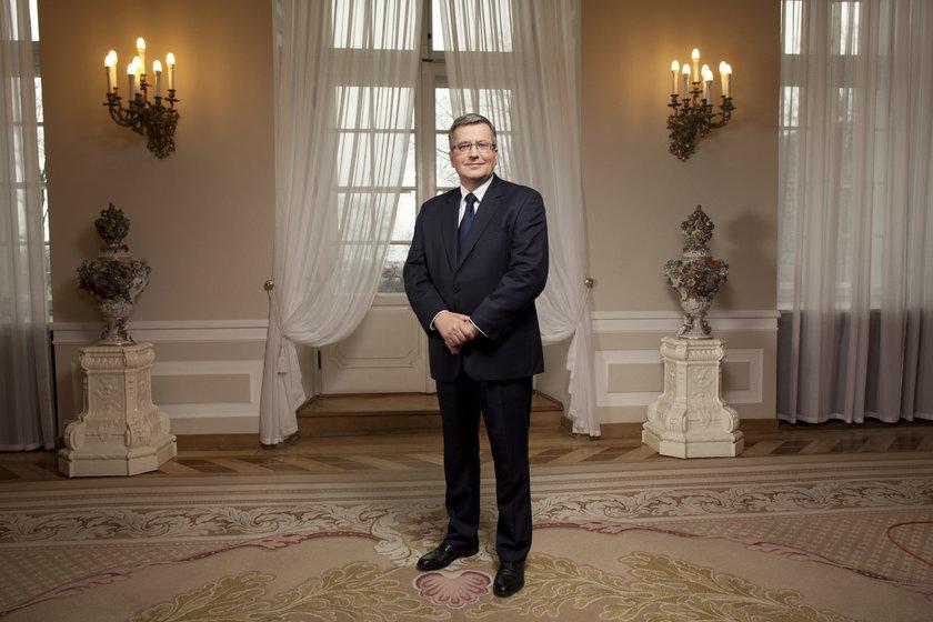 Prezydent Bronisław Komorowski jednym z najdroższych przywódców Europy