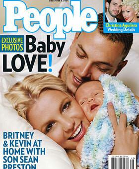 "Britney i Kavin Federline z synem Seanem Prestonem warci byli dla magazynu ""People"" jedyne 500 tys. dolarów"