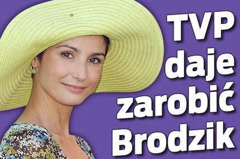 TVP daje zarobić Brodzik