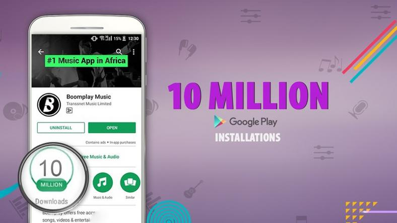 Boomplay reaches 10 million installations on Google Play Store