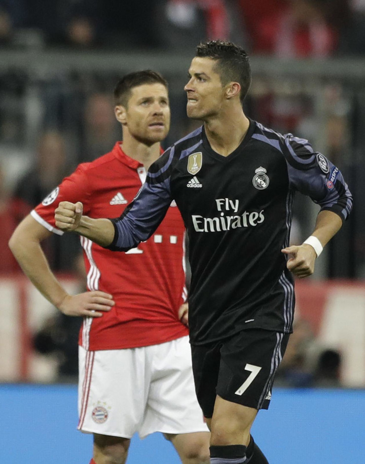 FK Bajern Minhen, FK Real Madrid, Kristijano Ronaldo