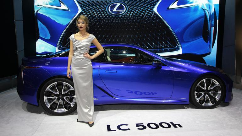 Lexus LC 500h – Genewa 2016