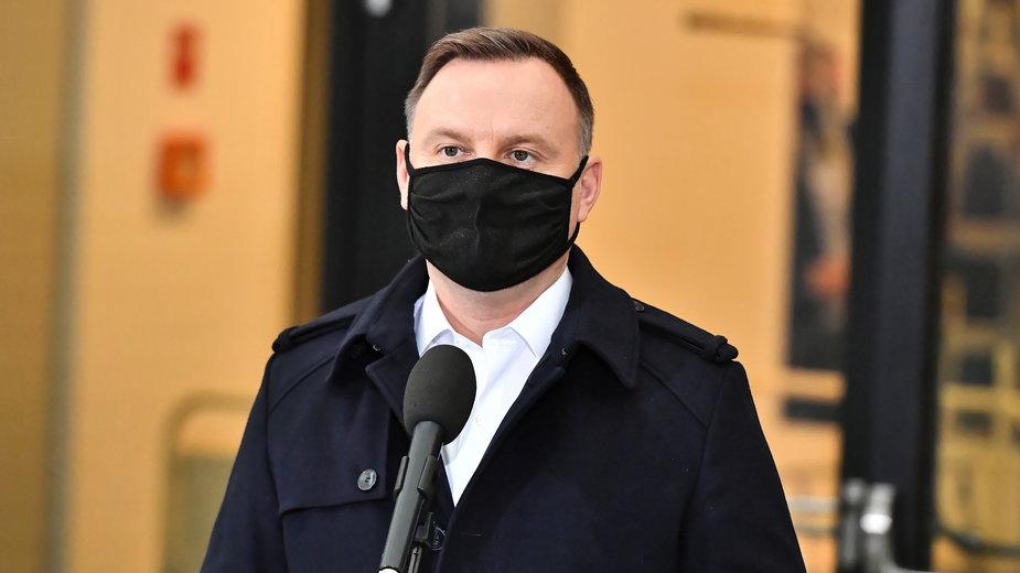 Koronawirus. Prezydent Andrzej Duda zakażony COVID-19