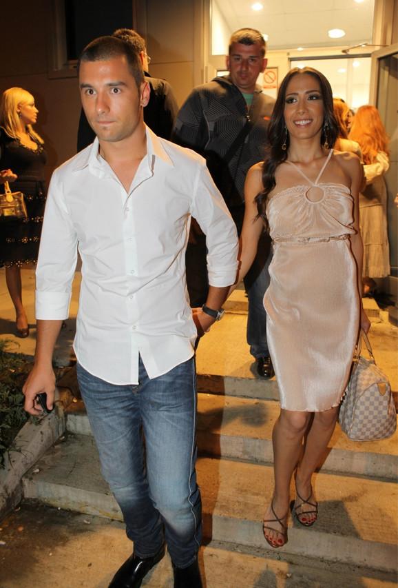 Nemanja Stevanović i Milena Ćeranić