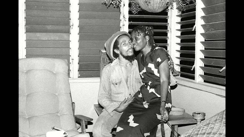 Bob Marley with Pascaline Bongo 'The Princess of Gabon'