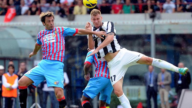 Catania przegrała z Juventusem