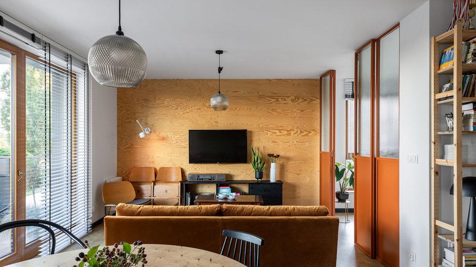 Mieszkanie od pracowni BARAK. Ma 70 metrów i powstało w Gdańsku