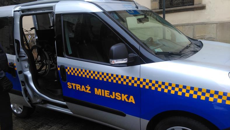 O zdarzeniu informowała krakowska straż miejska
