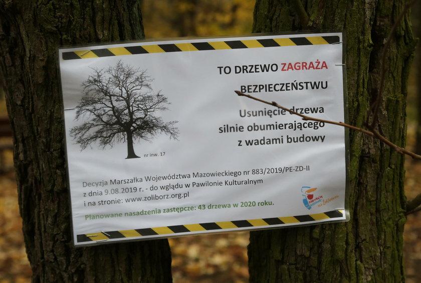 Nie wycinajcie Sadów Żoliborskich!