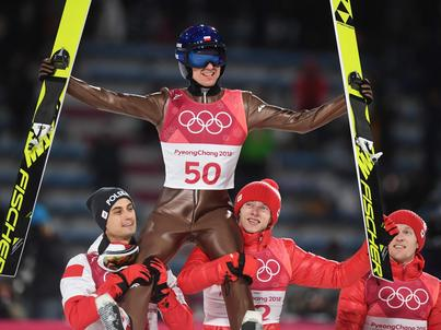 Kamil Stoch najlepszy na igrzyskach