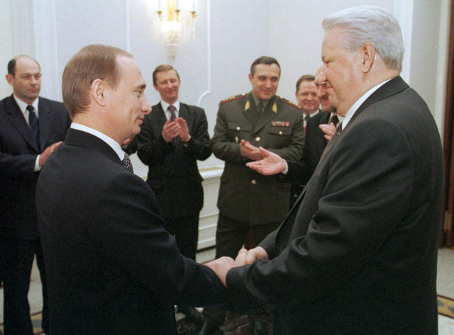 Putin i Jeljcin