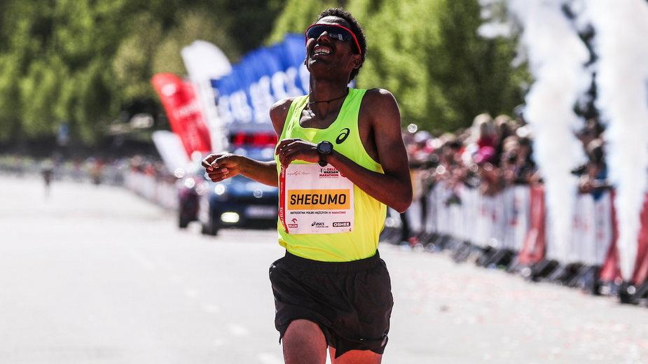 Yared Shegumo, zdjęcie z 2018 r.