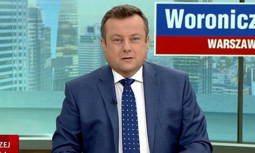 Dziennikarz TVP przeprasza