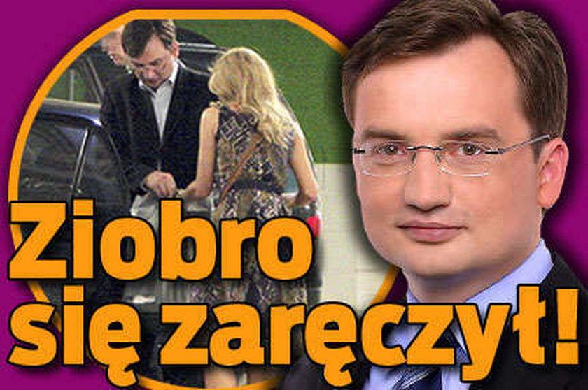 O tym plotkuje cały Sejm. Ziobro się zaręczył!