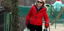 Żona premiera Tuska rozkwitła zimą!