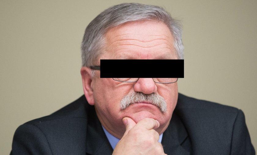 Były wiceminister Janusz O. zatrzymany przez CBA