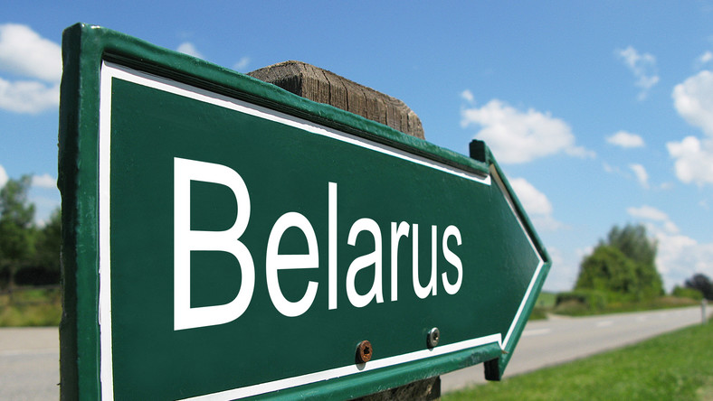 Drogowskaz na Białoruś