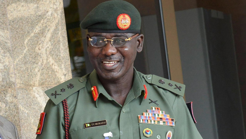 Chief of Army Staff Lt.- Gen. Tukur Buratai (The Nation)