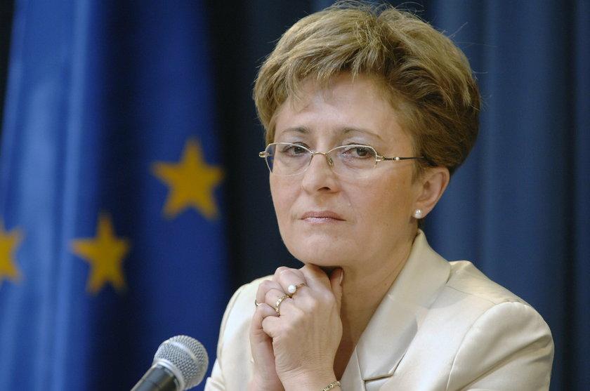 Elżbieta Radziszewska (PO), posłanka komisji zdrowia i była członkini komisji ds. służb specjalnych.