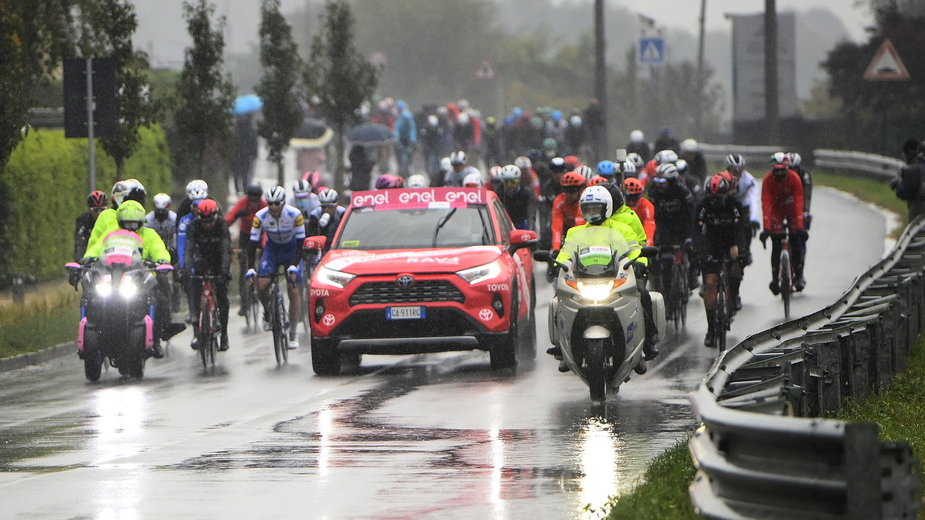 Zdjęcie z 19. etapu Giro d'Italia 2020