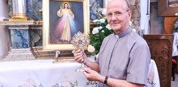 W tym kościółku jest drzewo z krzyża Chrystusa