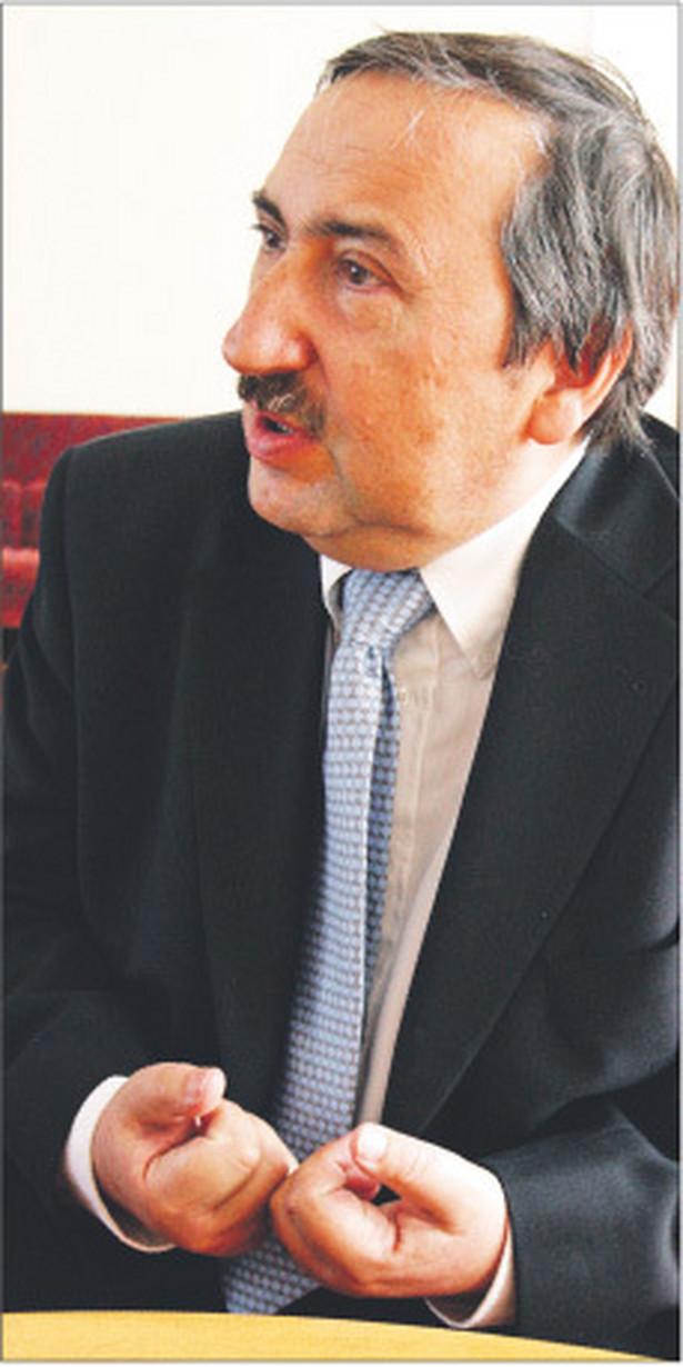 Prof. Bogusław Banaszak przewodniczący Rady Legislacyjnej, specjalista w dziedzinie prawa konstytucyjnego, kierownik Katedry Prawa Konstytucyjnego na Uniwersytecie Wrocławskim Fot. Wojciech Górski