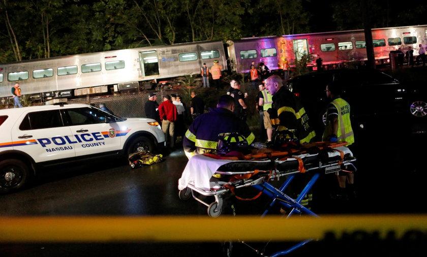 29 osób zostało rannych na skutek zderzenia dwóch pociągów