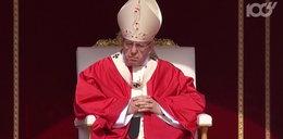 Papież zaskoczył swoimi słowami do homoseksualisty