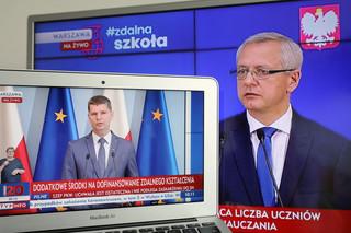 'Zdalna szkoła plus'. 180 mln zł dla szkół i samorządów