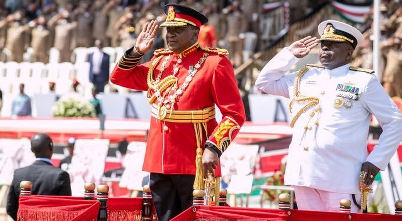 New army unit formed after Uhuru wore military uniform