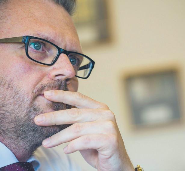 Maciej Biernat, prezes zarządu Polskiej Wytwórni Papierów Wartościowych