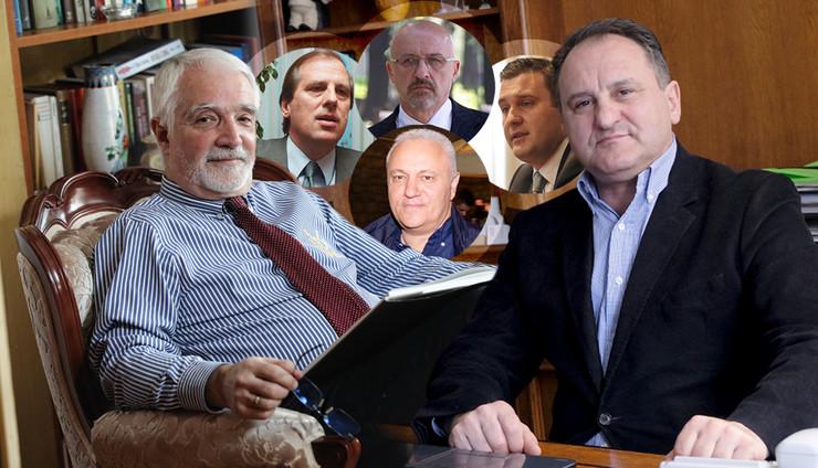 ministri KOMBO foto RAS Petar markovic, Igor Jovanov, Zoran Loncarevic, Emil Conkic, Rajko Ristic