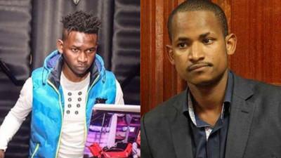 DJ Evolve has been discharged awaiting to be taken home- Babu Owino