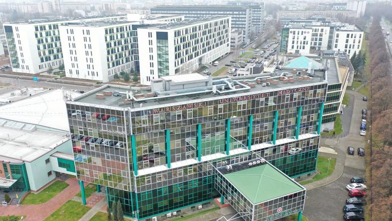 Budynek Warszawskiego Uniwersytetu Medycznego
