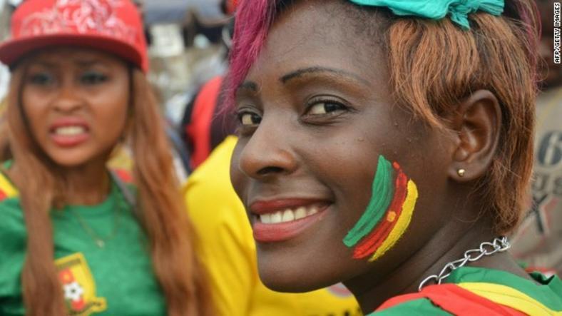 Cameroon female fans