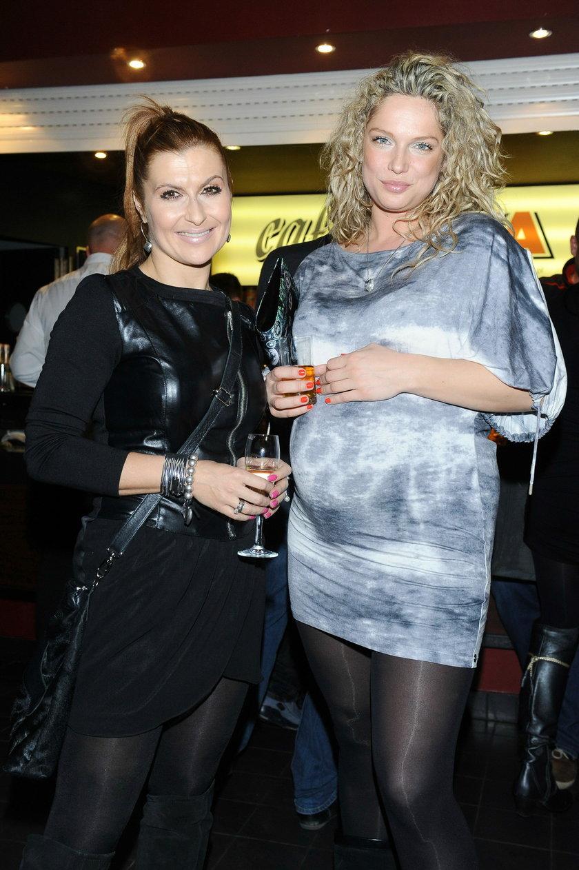 Katarzyna Skrzynecka i Joanna Liszowska