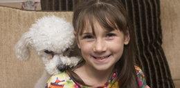 Ta 9-latka cierpi na straszną chorobę. Codziennie ratuje ją pies