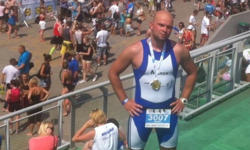 Śmierc na triathlonie
