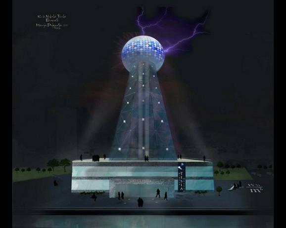 Mogući novi simbol Beograda:Toranj Nikole Tesle