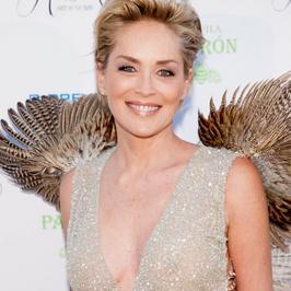 Sharon Stone dostała skrzydeł