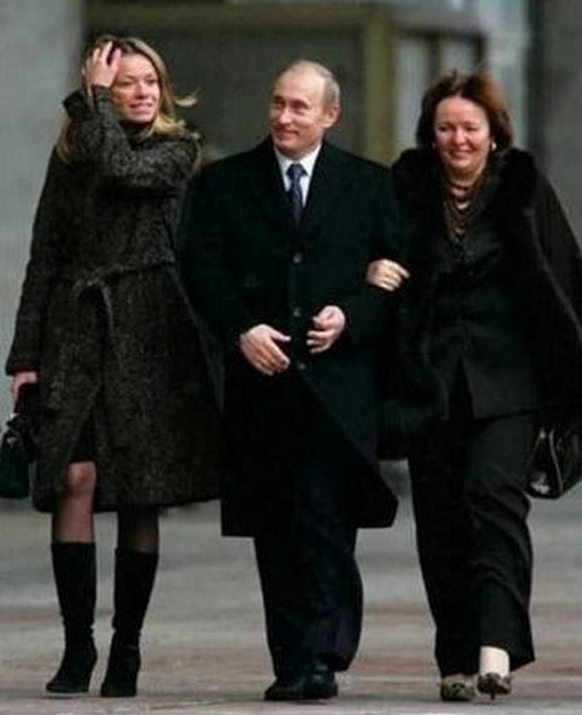 Z żoną i córką
