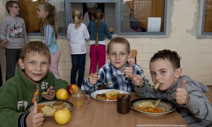 obiad szkolny