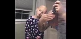 Wzruszający gest ojca. Zrobiłto dla chorej córeczki