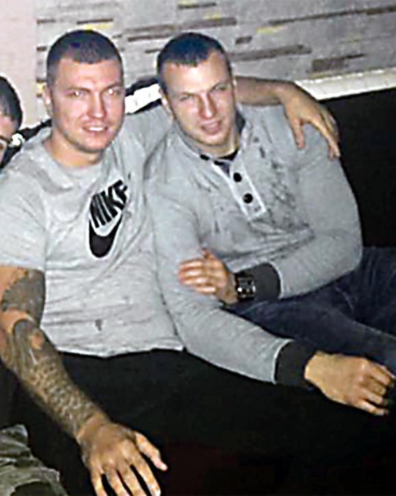Prijatelji: Vladimir Roganović i Aleksandar Stanković