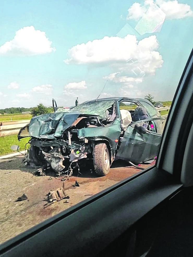 Saobraćajna nesreća u Velikoj Plani
