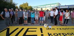 Protestują przeciwko fabryce