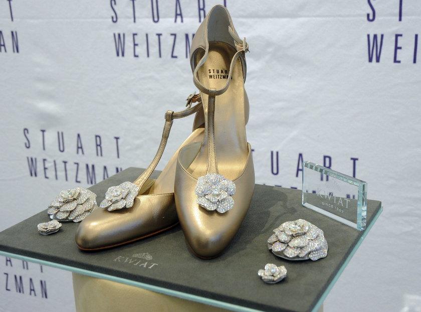 Jego buty nosiła np: Jessica Simpson
